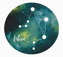 Libra Zodiac Sign, September 23 - October 22 Kids Tee