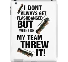 Team Flash! iPad Case/Skin