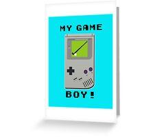 My Game Boy! Greeting Card