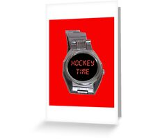 Hockey Time! Greeting Card