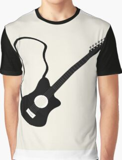 instrument guitar picture,illustration vector Graphic T-Shirt