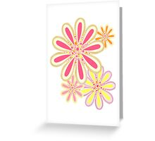 Petals and Dots Greeting Card