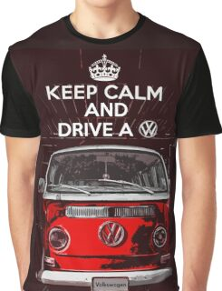 Keep calm and drive a VW Graphic T-Shirt