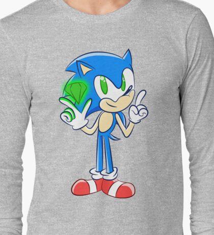 Sonic 25th: Sonic the Hedgehog  Long Sleeve T-Shirt