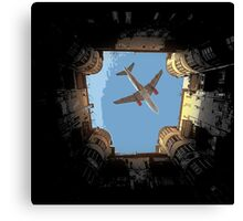 Airbus A 320 perfect timing Canvas Print