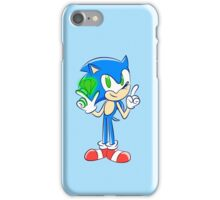 Sonic 25th: Sonic the Hedgehog  iPhone Case/Skin