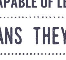 Special Education design Sticker