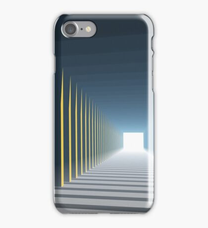 Linear Perspective of Light iPhone Case/Skin