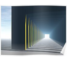 Linear Perspective of Light Poster