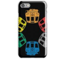 DC Metro Cars iPhone Case/Skin