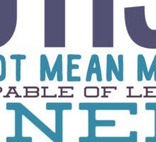 Autism Awareness design Sticker
