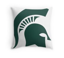 NCAA - Michigan State Spartans Throw Pillow