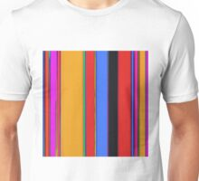 Bright stripes Unisex T-Shirt