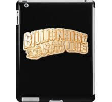 BBC BILLIONAIRE BOYS CLUB GOLD LOGO iPad Case/Skin