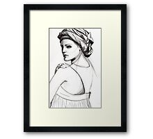 Wrap Protrait Framed Print