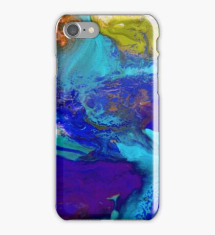 Psychedelic Seascape iPhone Case/Skin