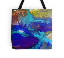 Psychedelic Seascape Tote Bag