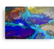 Psychedelic Seascape Metal Print