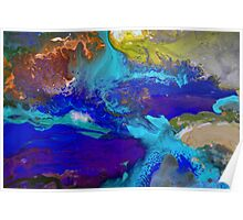Psychedelic Seascape Poster