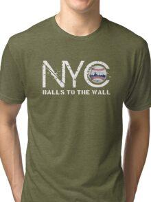 nyc baseball Tri-blend T-Shirt