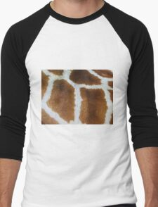 Giraffe fur   Men's Baseball ¾ T-Shirt