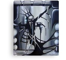 A Great Oil Disaster on Canvas Canvas Print