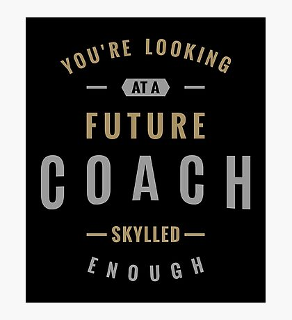 Future Coach  Photographic Print