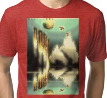 dreaming in light and earth Tri-blend T-Shirt