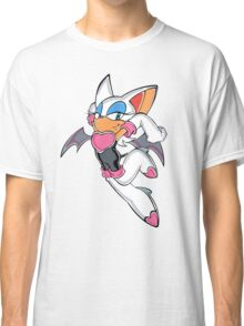 Rouge the Bat in Action Classic T-Shirt