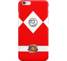 power ranger iPhone Case/Skin