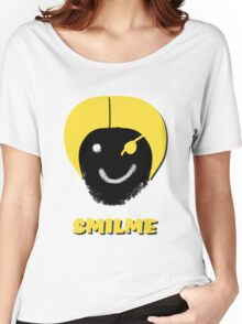 Smiley Smilme pirate Women's Relaxed Fit T-Shirt