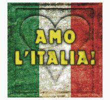 Amo L'Italia (I Love Italy) Baby Tee