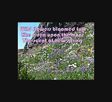 Wild Flowers Like a Sea  Unisex T-Shirt
