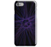Circle of Rays - Indigo iPhone Case/Skin