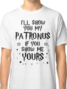 Show Me Your Patronus Classic T-Shirt