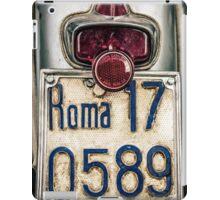 Vintage Vespa in Rome iPad Case/Skin