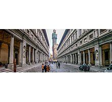 Piazza degli Uffizi Photographic Print