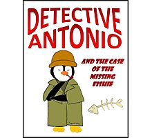 Detective Antonio and the Case of the Missing Fishie Photographic Print
