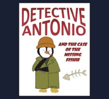 Detective Antonio and the Case of the Missing Fishie Kids Tee
