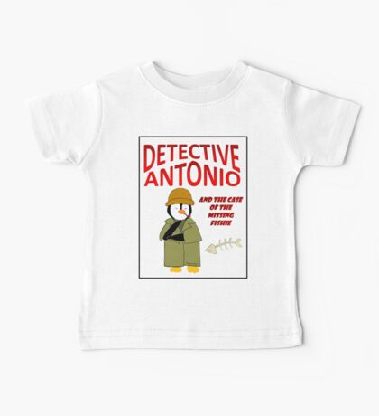 Detective Antonio and the Case of the Missing Fishie Baby Tee