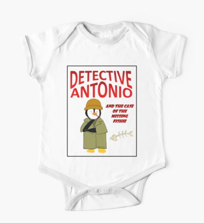 Detective Antonio and the Case of the Missing Fishie One Piece - Short Sleeve