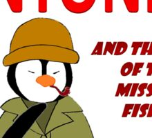 Detective Antonio and the Case of the Missing Fishie Sticker