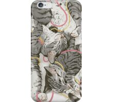 cats /rose and gold iPhone Case/Skin