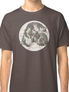 cats /rose and gold Classic T-Shirt