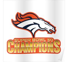 super bowl 50 2016 champions Poster