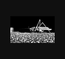 Grasshopper in Black and White Unisex T-Shirt