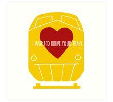 Trainers - Driver Art Print