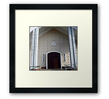 Our Lady of the Rosary Church Framed Print