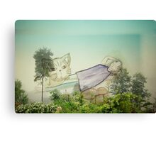 Good to be back home on the mountain Canvas Print