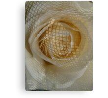 Floral Cage Canvas Print